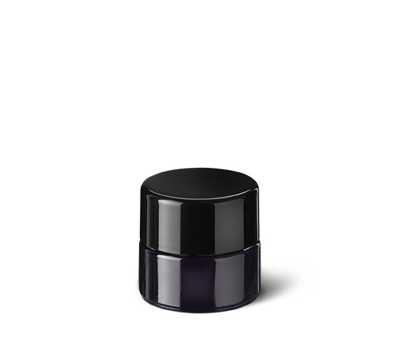 Cosmetic jar Eris 5 ml, 28 special thread, fit for child-resistant lid, Miron