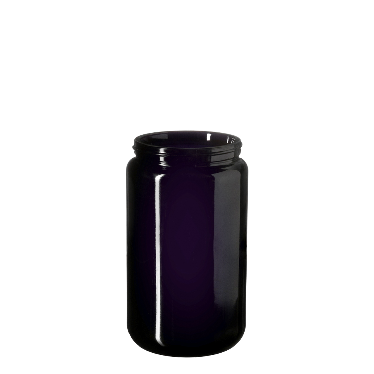 Wide neck jar Saturn 400 ml, Miron, 70/400 thread