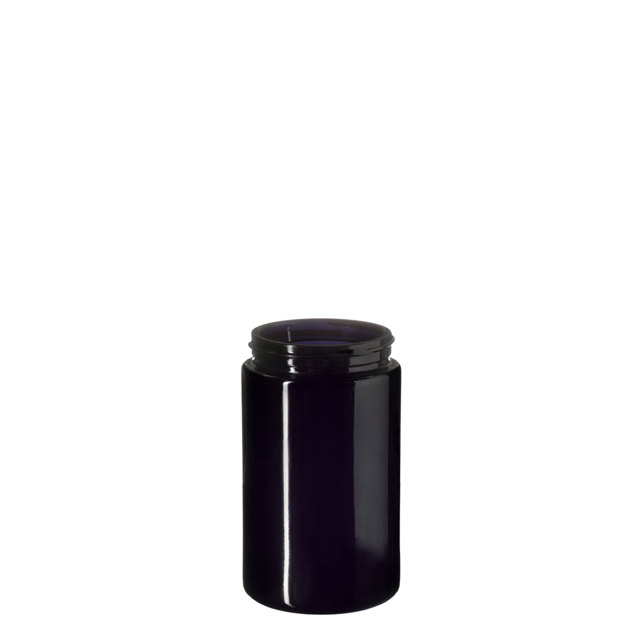 Wide neck jar Saturn 200 ml, Miron, 58/400 thread