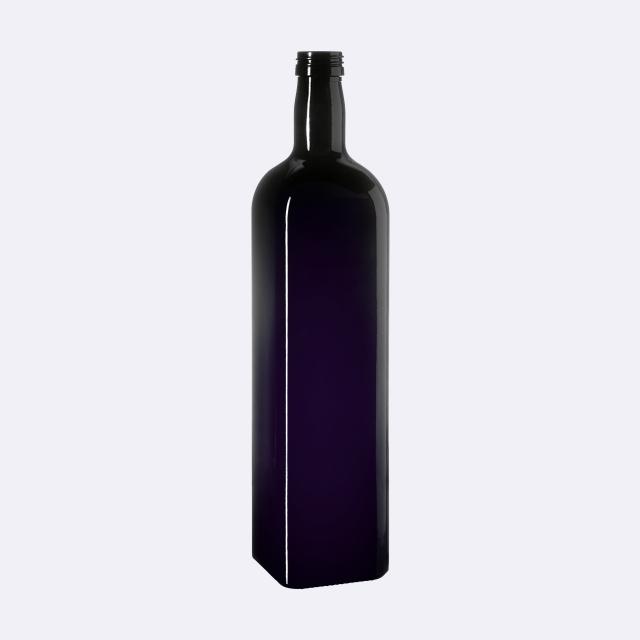 Oil bottle Castor 1000 ml, Miron, 31.5 STD thread (square)