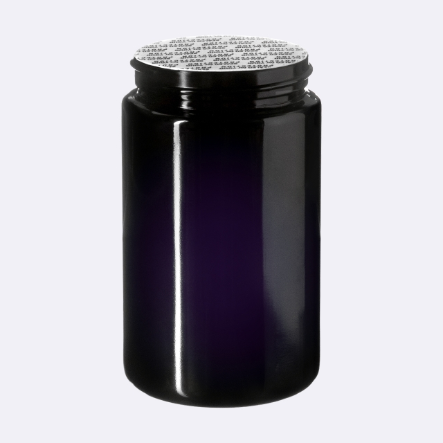 """Pressure sensitive seal, white with black text """"SFYP"""" (for Saturn 150 ml)"""