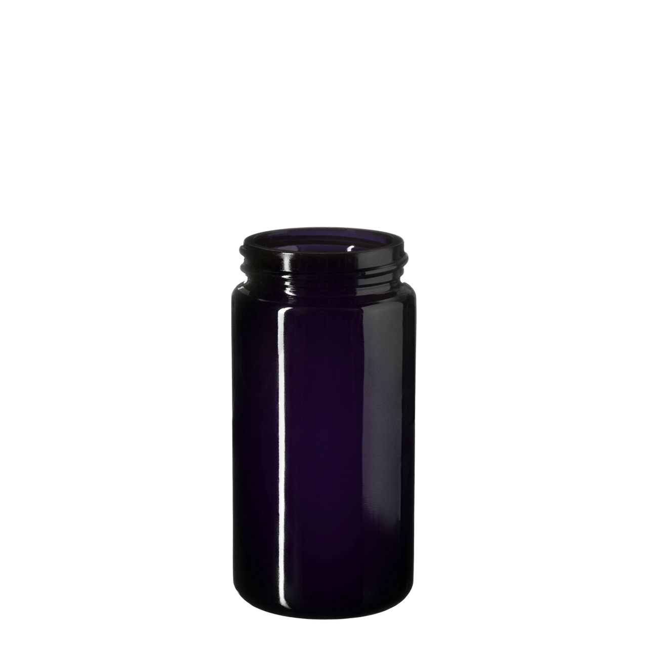 Wide neck jar Saturn 100 ml, Miron, 45/400 thread