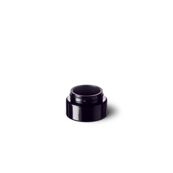 Cosmetic jar Eris 30 ml, 45 special thread, fit for child-resistant lid, Miron