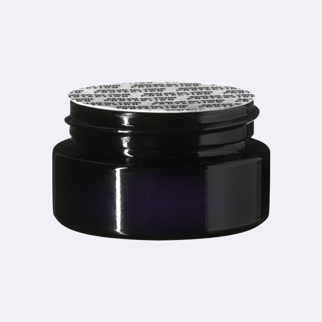 """Pressure sensitive seal, white with black text """"SFYP"""" (for Sirius 15 ml)"""