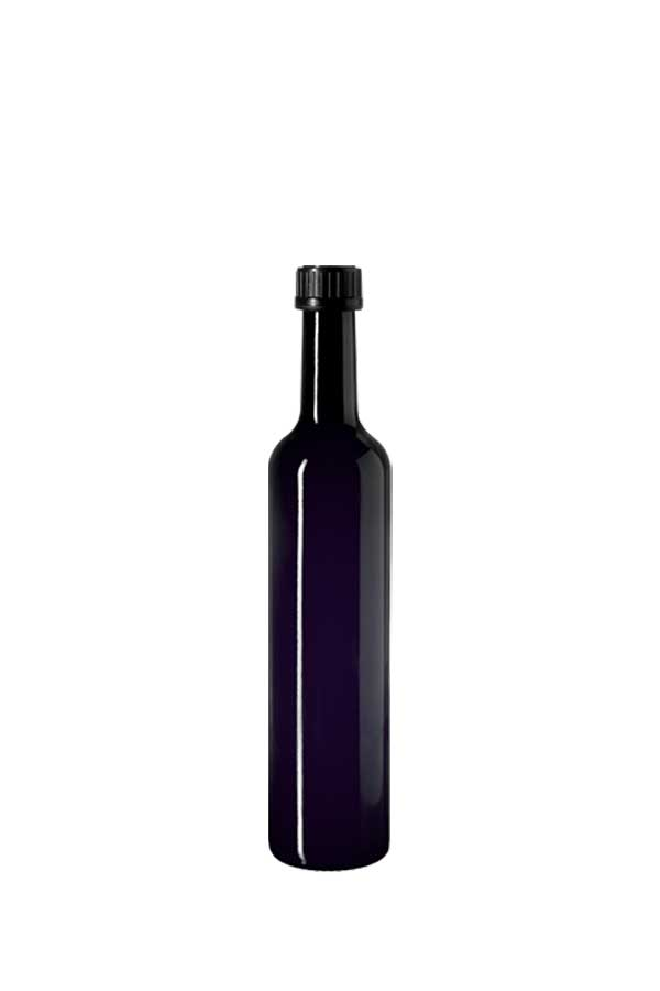 Oil bottle Pollux 500 ml, 31.5 STD thread (height: 294 mm), Miron