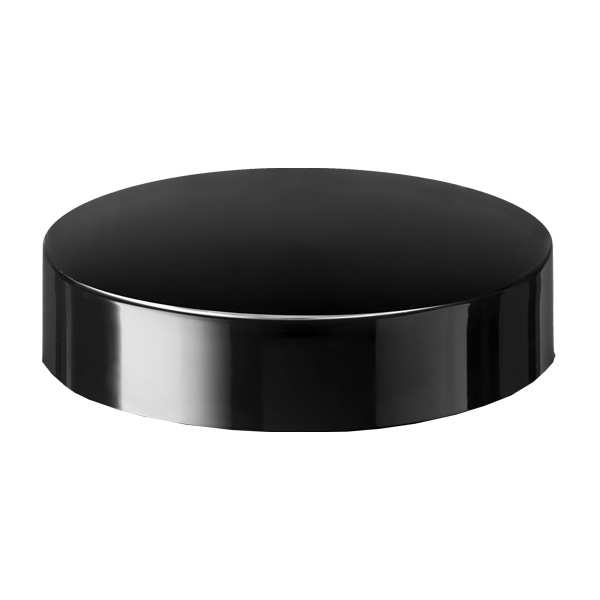 Child-resistant lid Modern 86 special, PP, black, glossy finish with violet Phan inlay (for Eris 240)