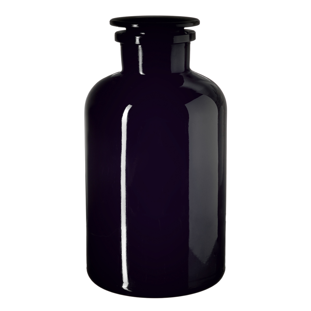 Apothecary jar Libra 2000 ml, Miron, grinded glass stopper
