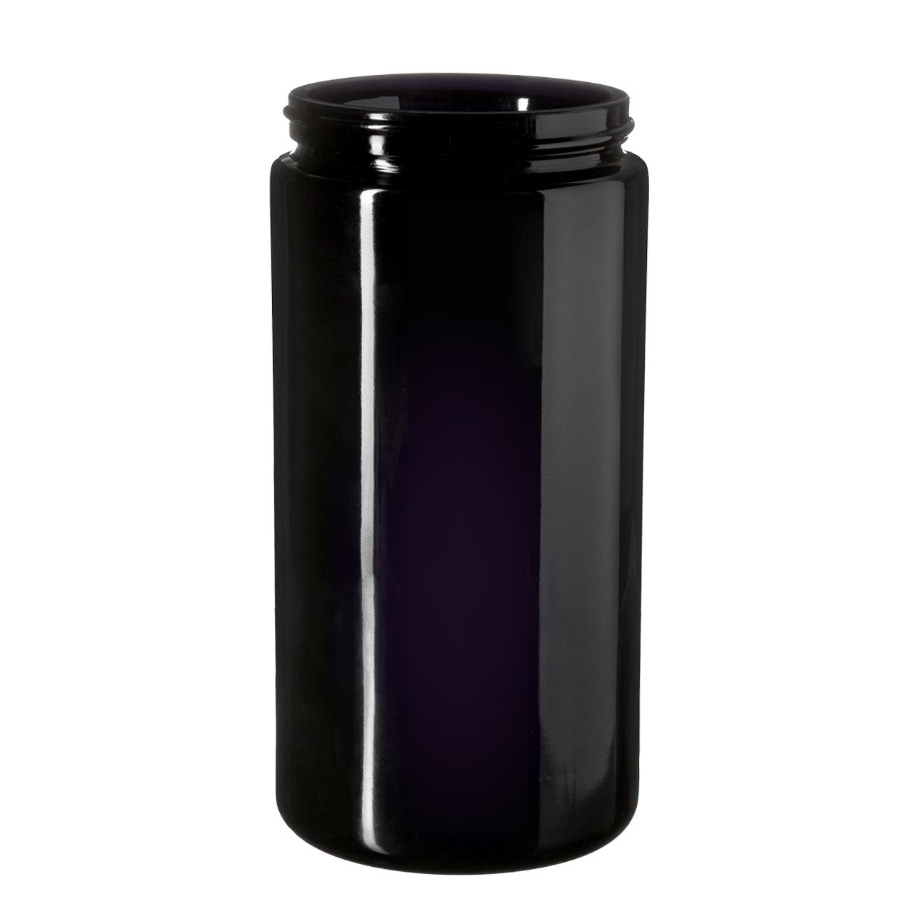 Wide neck jar Saturn 1000 ml, Miron, 89/400 thread