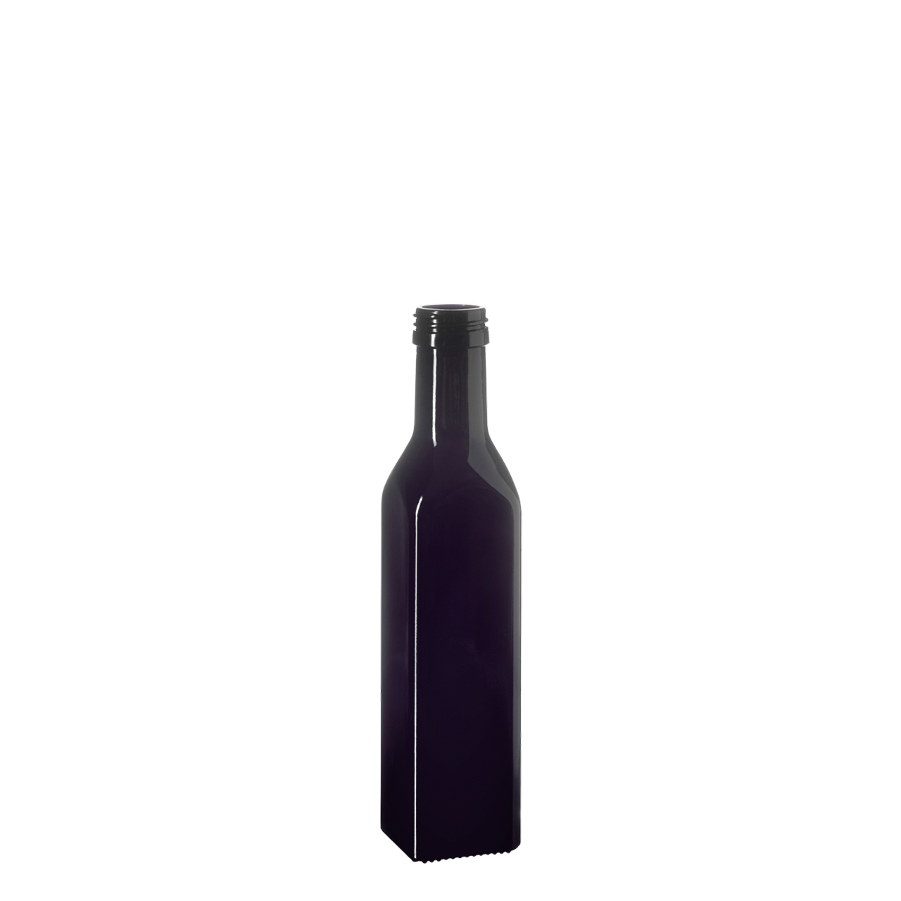 Oil bottle Castor 250 ml, Miron, 31.5 STD thread (square)