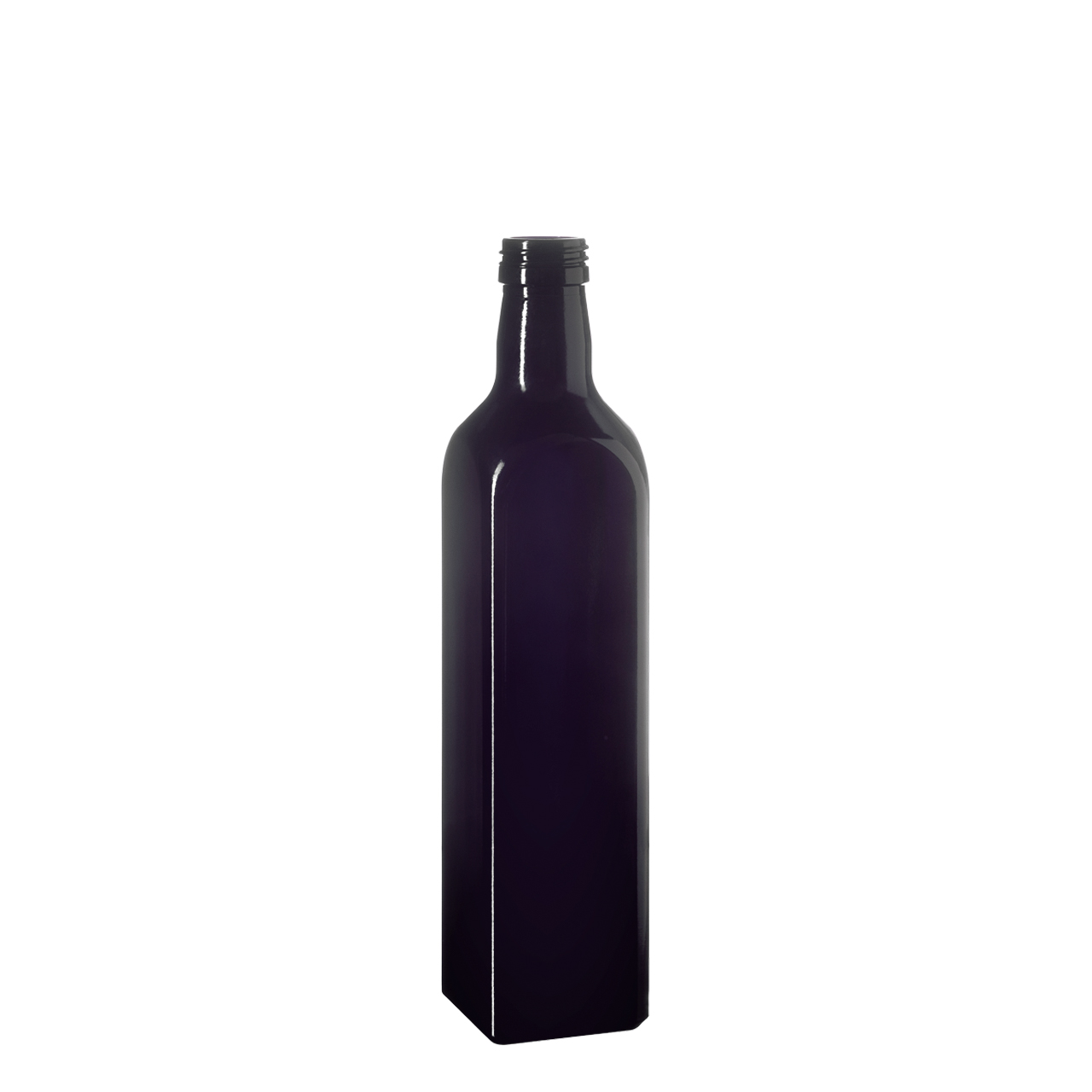 Oil bottle Castor 500 ml, Miron, 31.5 STD thread (square)
