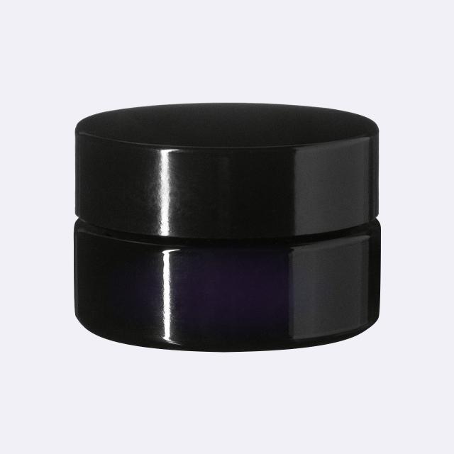 Deckel modern für dose Sirius 15 ml, Schwarz