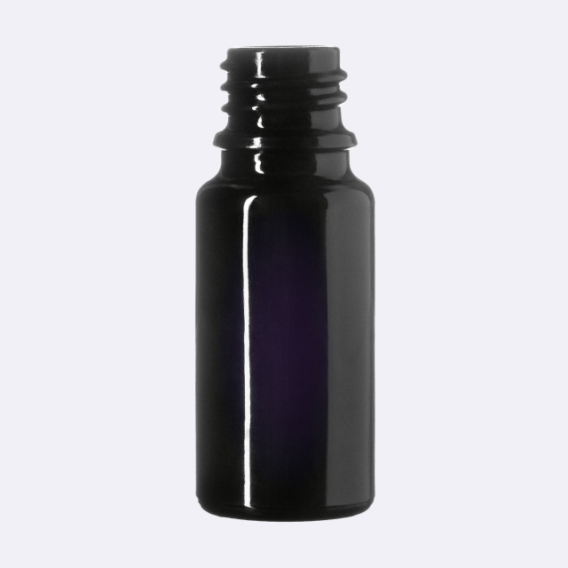Dropper bottle Orion 10 ml, Miron, DIN18 thread (height: 63 mm)