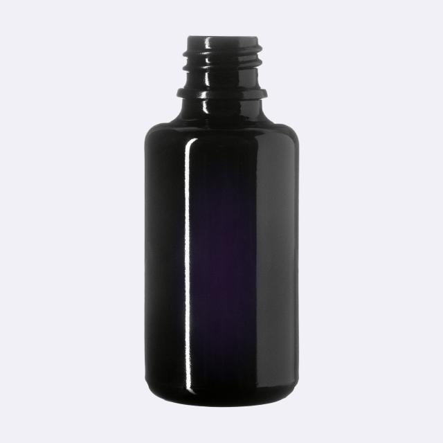 Dropper bottle Orion 30 ml, Miron, DIN18 thread