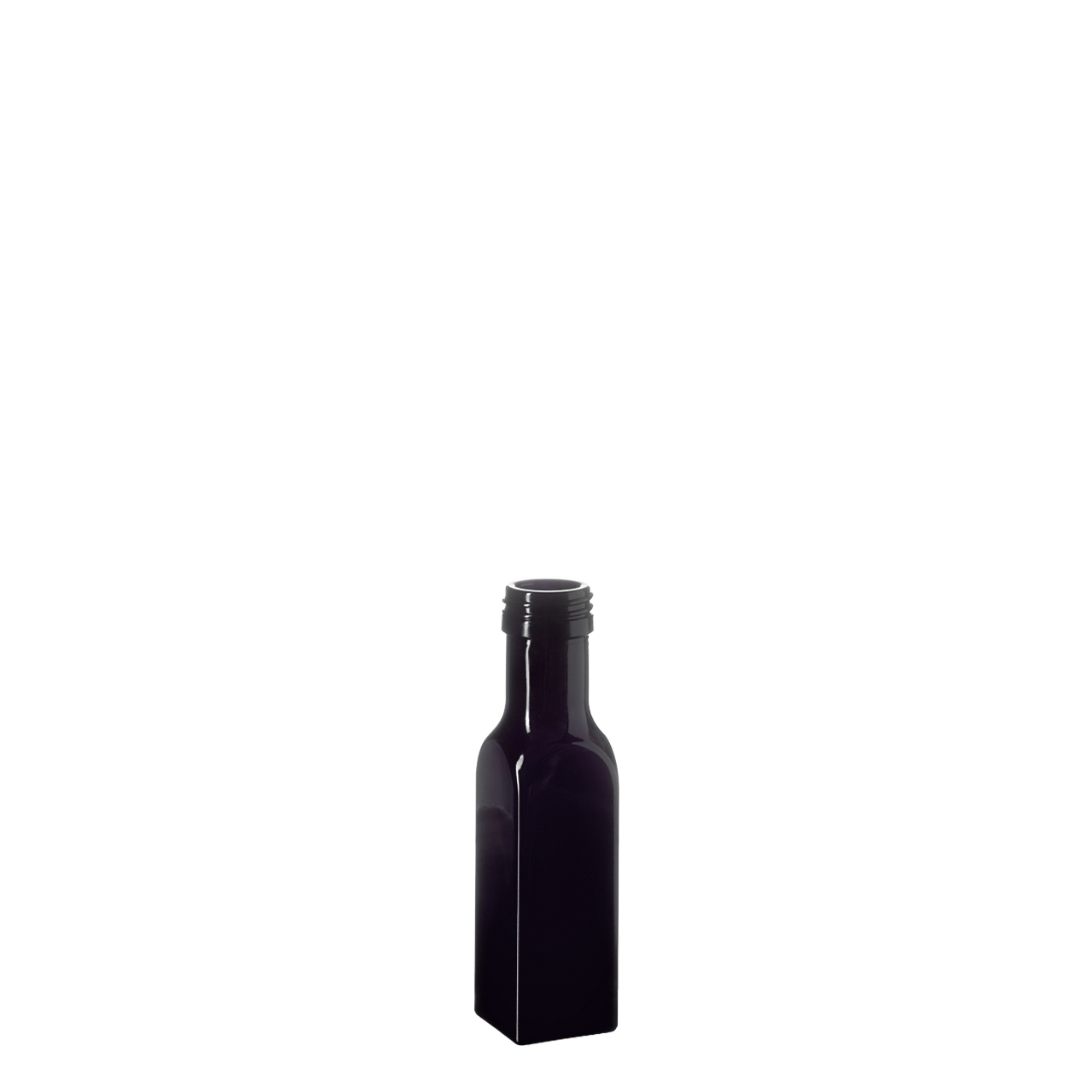 Oil bottle Castor 100 ml, Miron, 31.5 STD thread (square)