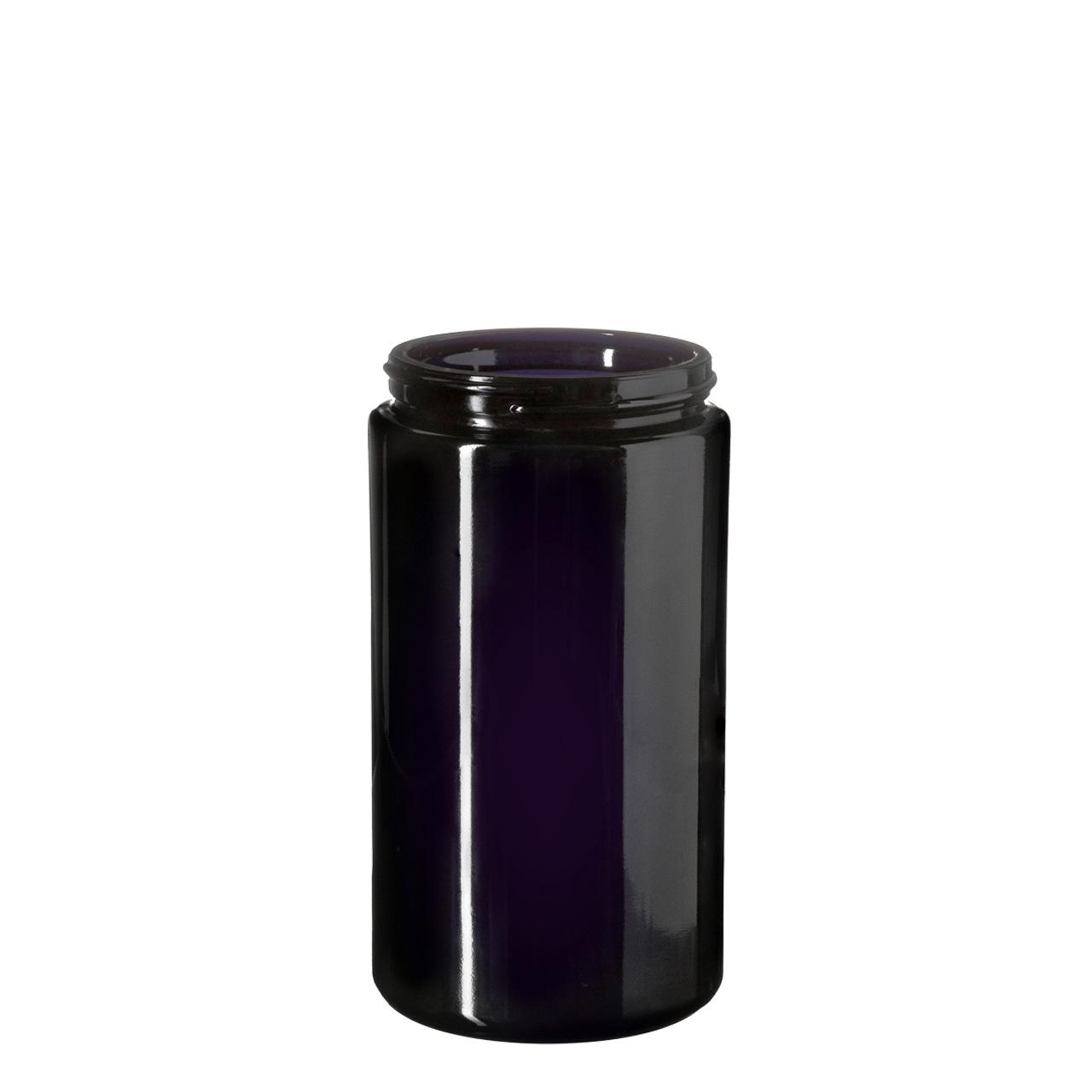 Wide neck jar Saturn 500 ml, Miron, 75/400 thread