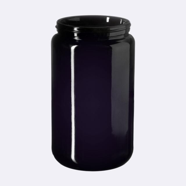 Wide neck jar Saturn 400 ml, Miron, 70/400 thread