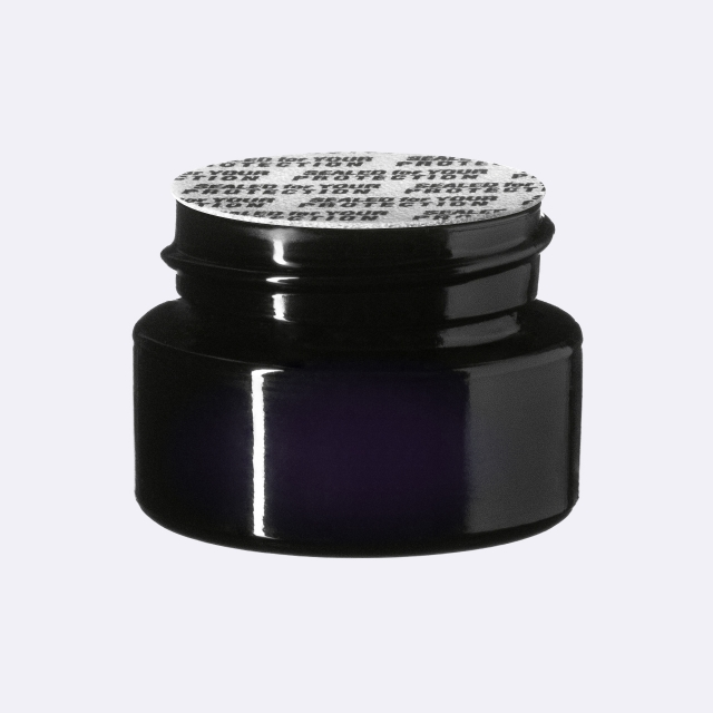 """Pressure sensitive seal, white with black text """"SFYP"""" (for Ceres 5 ml)"""