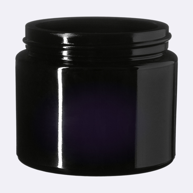 Cosmetic jar Ceres 100 ml, Miron, 60 mm special thread