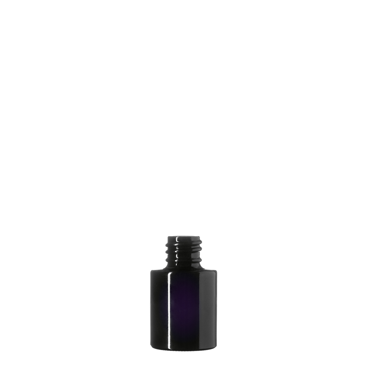 Cosmetic bottle Virgo 15 ml, Miron, 18/415 thread