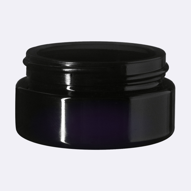 Cosmetic jar Sirius 30 ml, Miron, 51 mm special thread