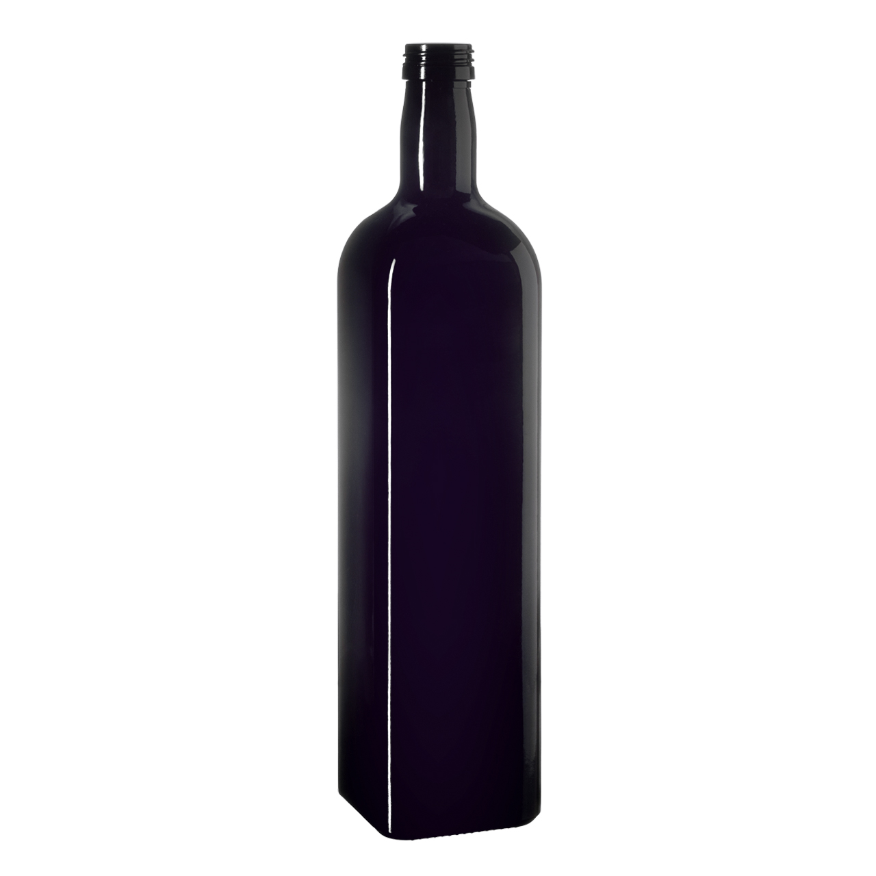 Oil bottle Castor 1000 ml, Miron, 31.5 STD thread (square)