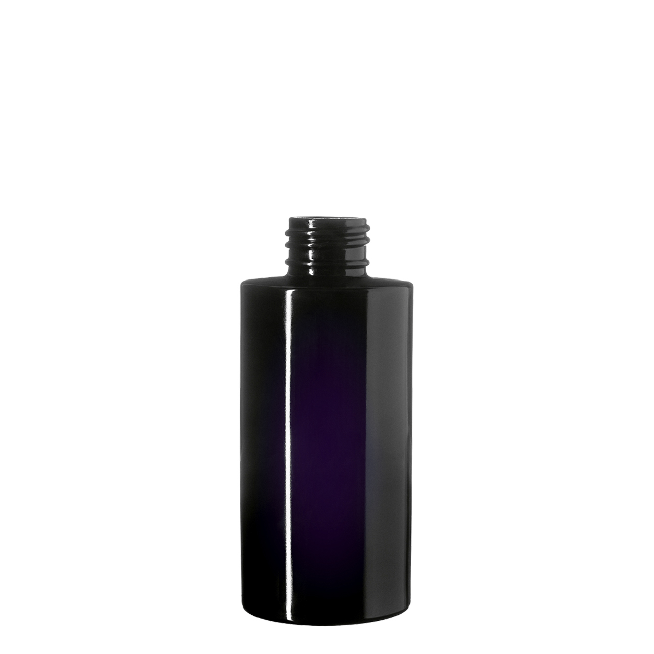 Cosmetic bottle Virgo 100 ml, Miron, 24/410 thread