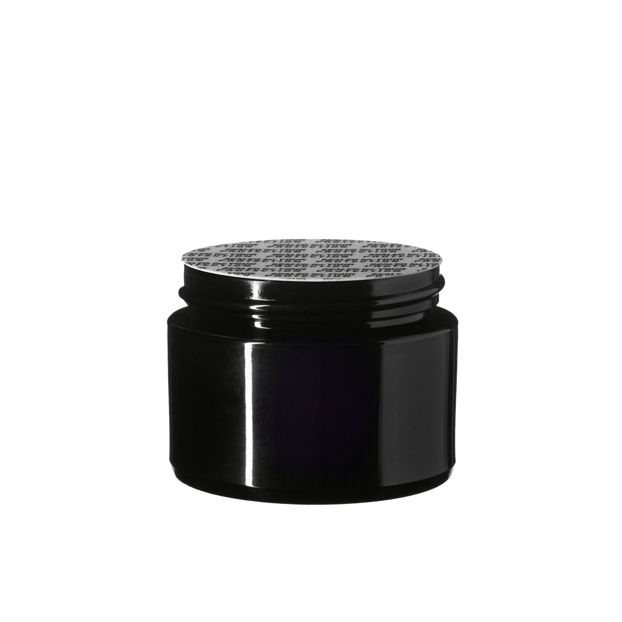 """Pressure sensitive seal, white with black text """"SFYP"""" (for Ceres 30 ml)"""