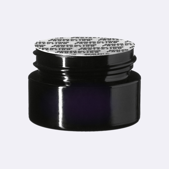 """Pressure sensitive seal, white with black text """"SFYP"""" (for Ceres 10 ml)"""