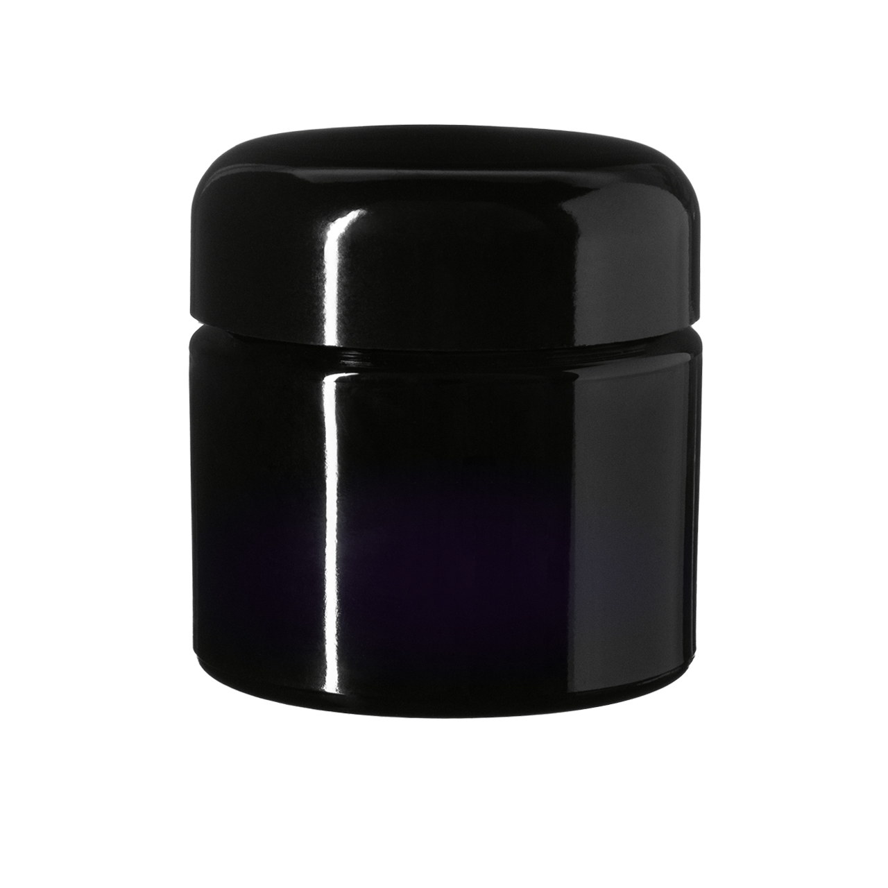 Lid Classic 58 special, Urea, black, semi-glossy finish with violet Phan inlay (for Ceres 100 & Carina 500)