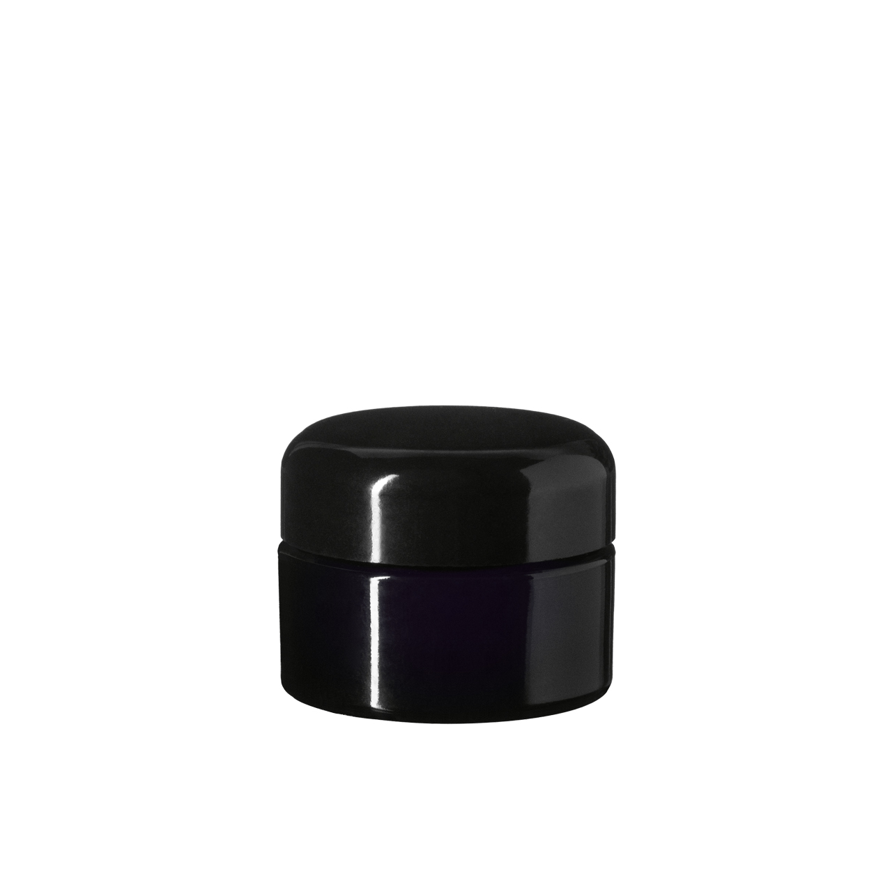 Lid Classic 38 special, Urea, black, semi-glossy finish with violet Phan inlay (for Ceres 15)