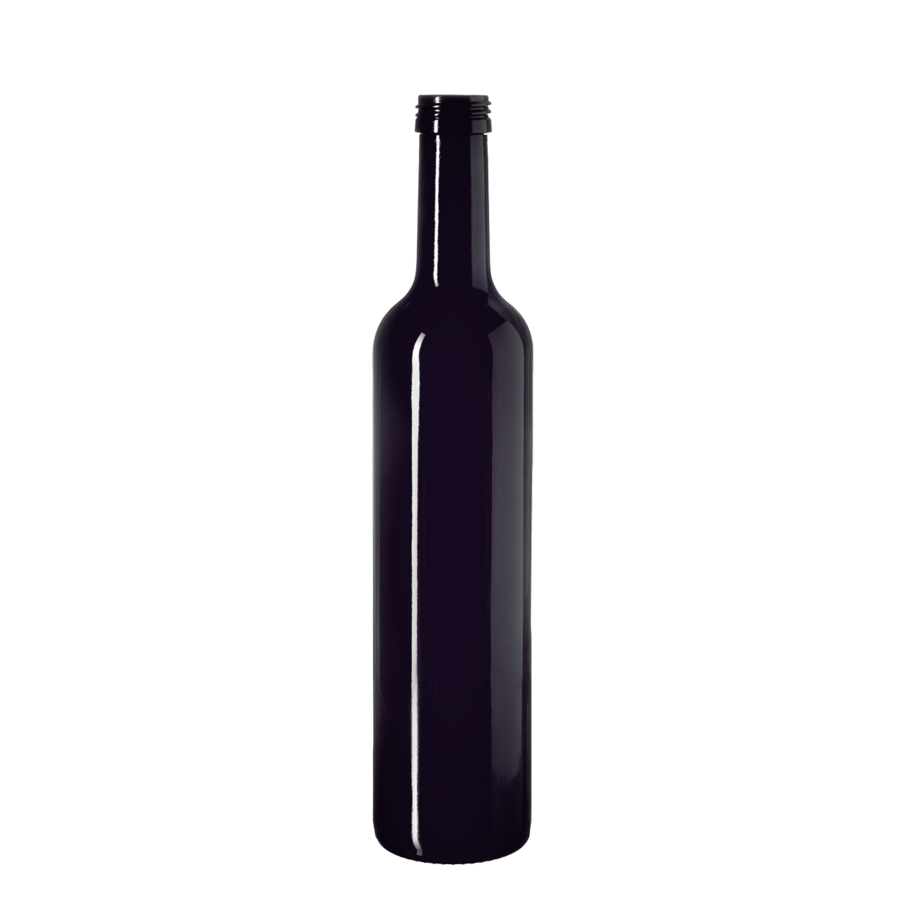 Oil bottle Pollux 500 ml, Miron, 31.5 STD thread (height: 294 mm)