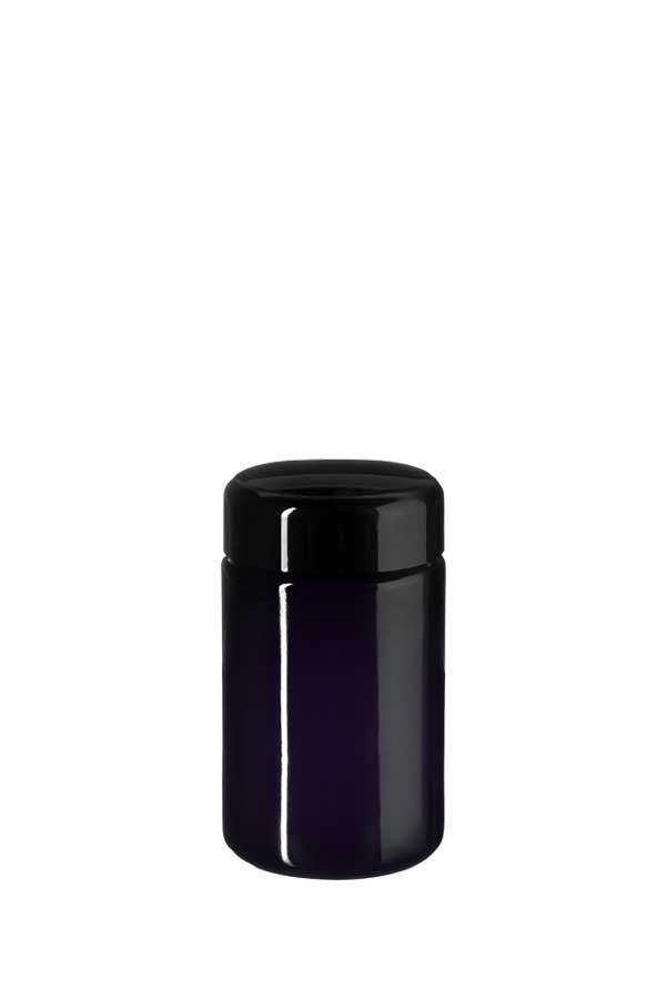 Wide neck jar Saturn 100 ml Height 96 mm, 48/400, Miron