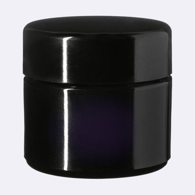Deckel modern für Ceres 50 ml, Schwarz