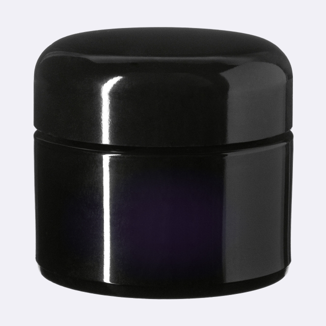 Lid Classic 47 special, Urea, black, semi-glossy finish with violet Phan inlay (for Ceres 30)
