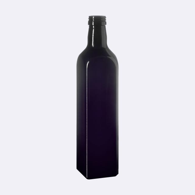 Oil bottle Castor 500 ml, Miron, 31.5 STD thread (square)