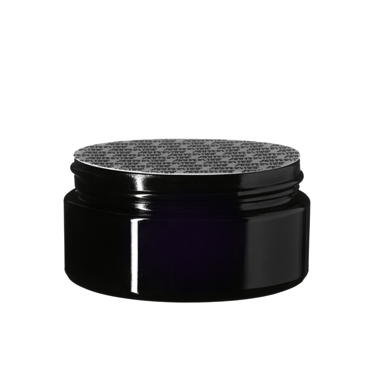 Pressure sensitive seal, white with black text ''SFYP'' (for jars Sirius 100 ml & Saturn 500 ml)