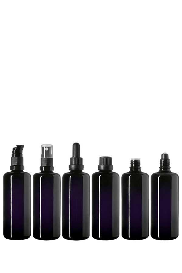 Dropper bottle Orion 100 ml, Miron, DIN18 thread