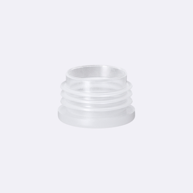 Dropper insert 24/410, PE, with natural dropper 5.0 mm (for Orion 200 ml)