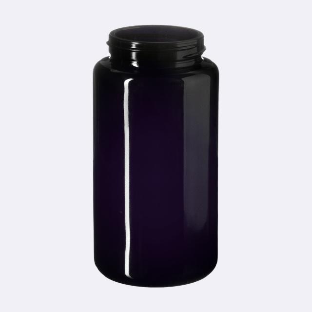 Vitamin jar Carina 200 ml, Miron, 48/400 thread