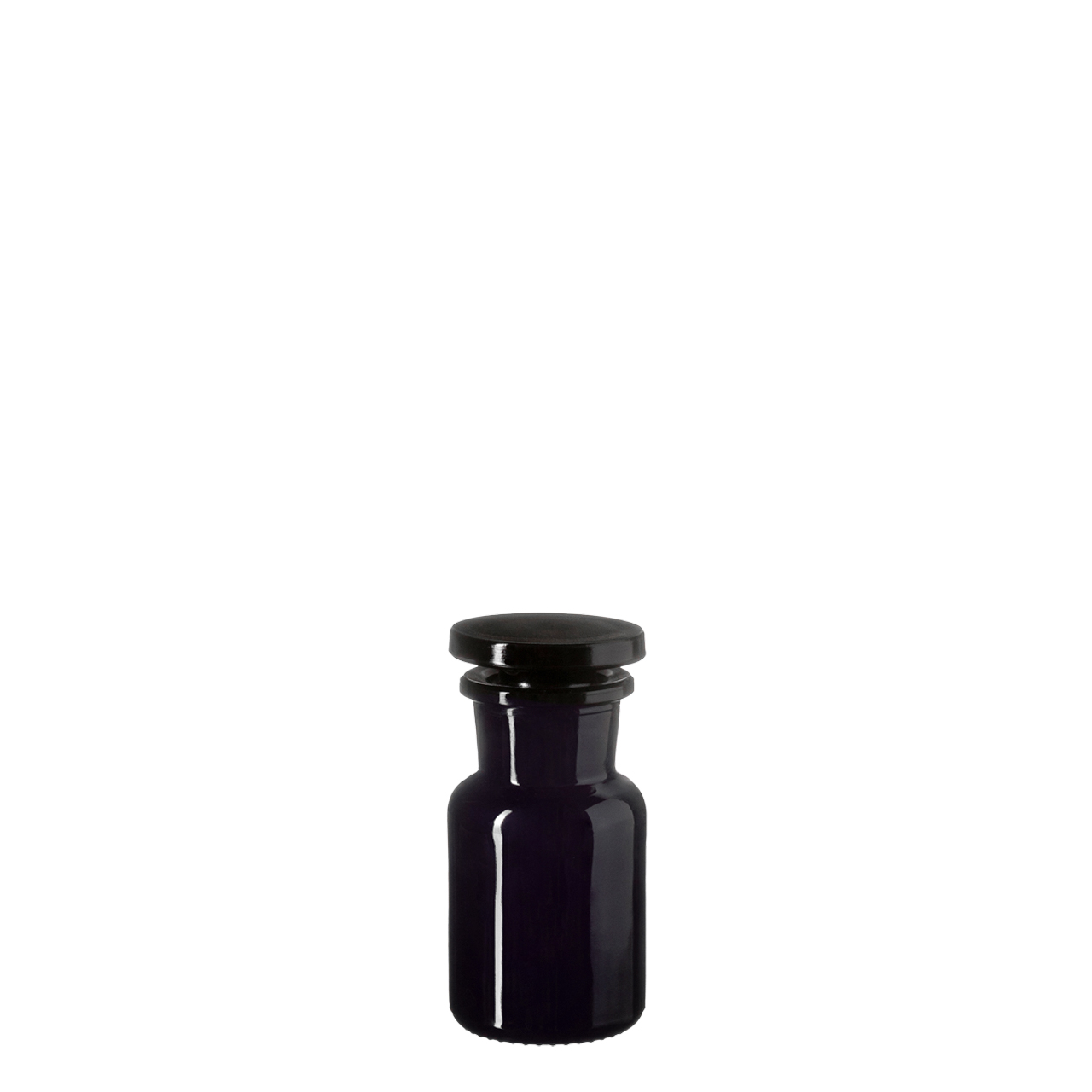 Apothecary jar Libra 50 ml, Miron, grinded glass stopper
