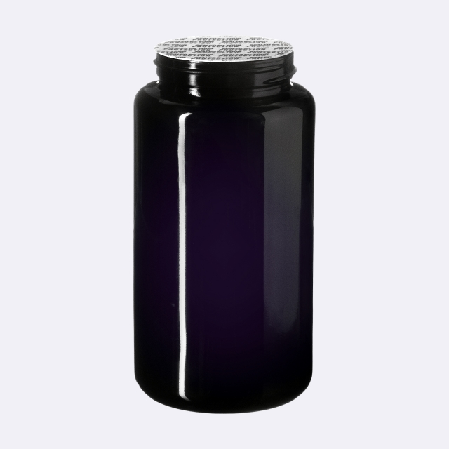 """Pressure sensitive seal, white with black text """"SFYP"""" (for Saturn 100 ml & Carina 200-300 ml)"""