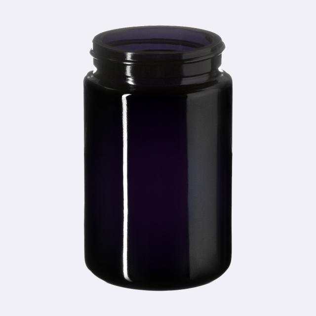 Wide neck jar Saturn 100 ml, Miron, 48/400 thread