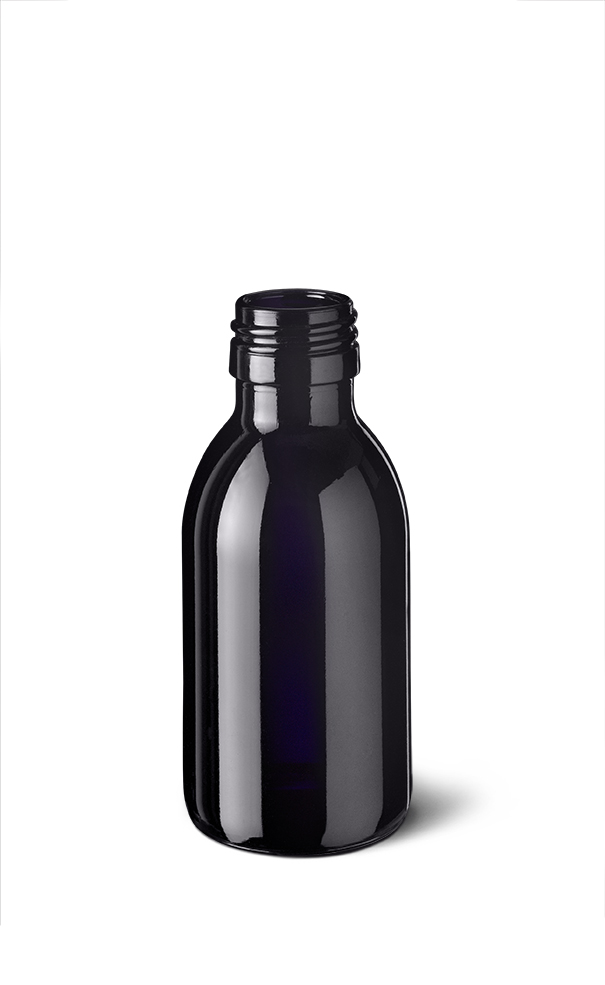 Wasserflaschen Aquarius 100 ml, PP28 STD (FL-WA-100-PP28)