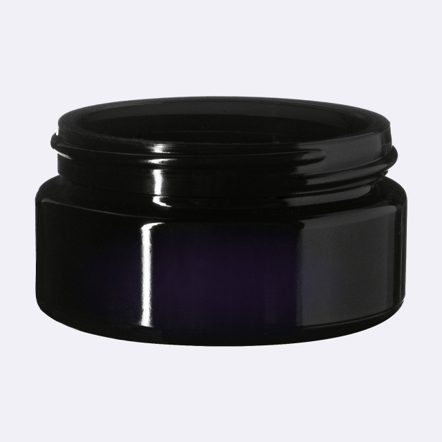 Cosmetic jar Sirius 50 ml, Miron, 59 mm special thread